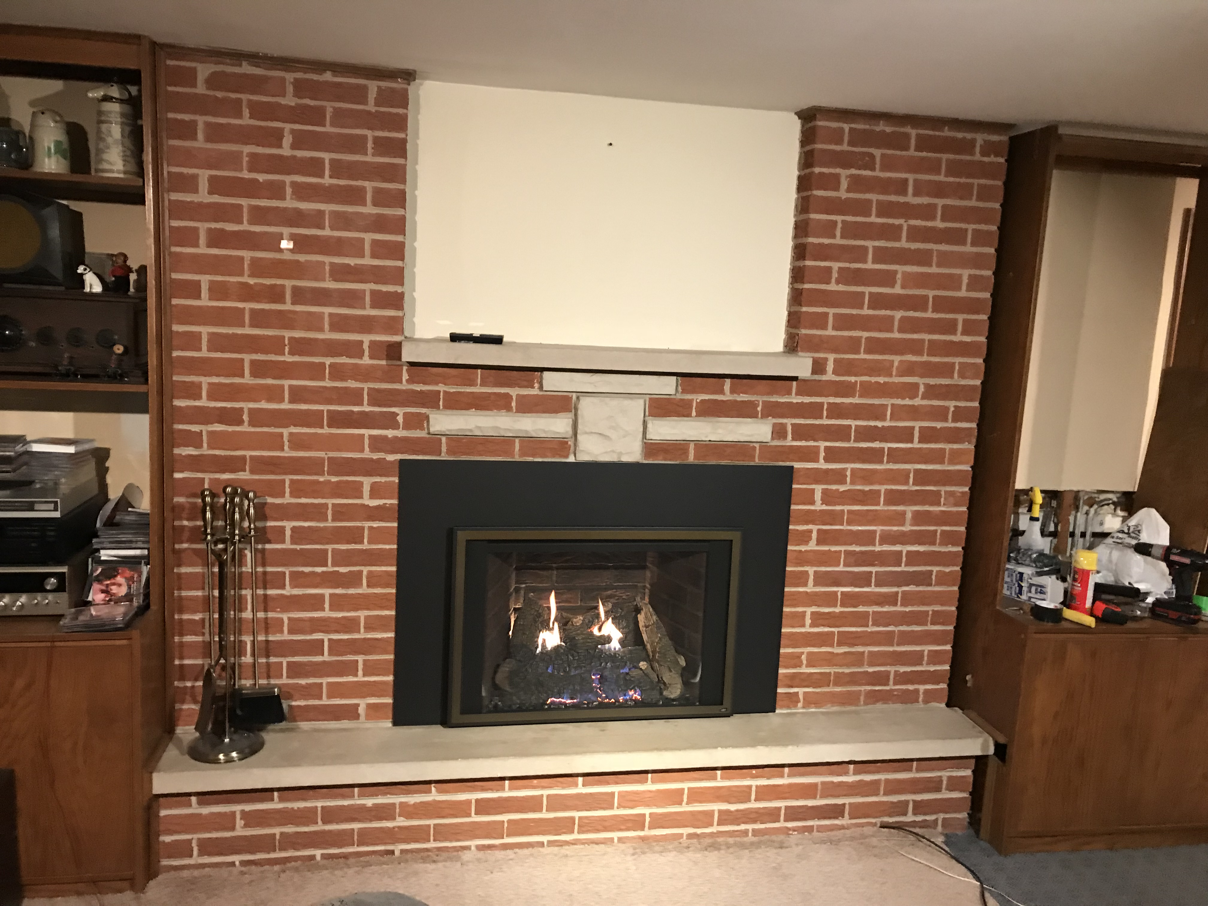 to in how sided single model install rettinger product solas much fireplaces vent direct built fireplace a