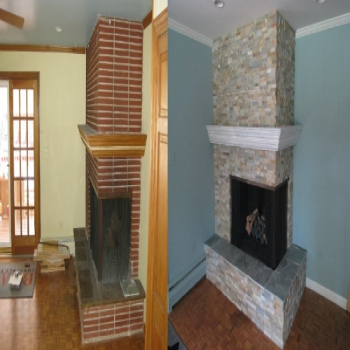 Before / After :: Hearth & Home