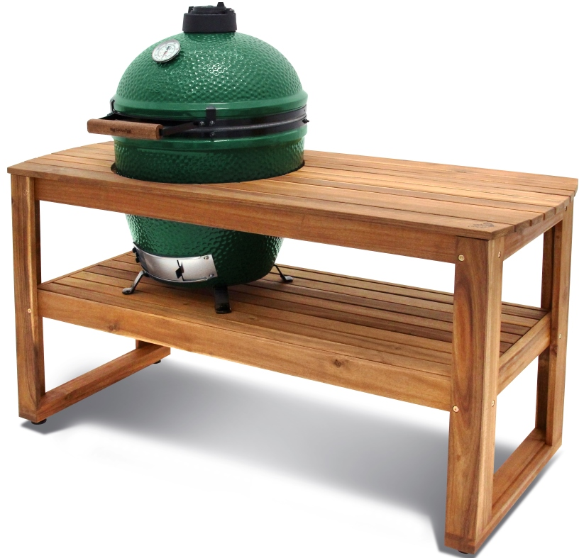 Large Egg In Acacia Table By Big Green